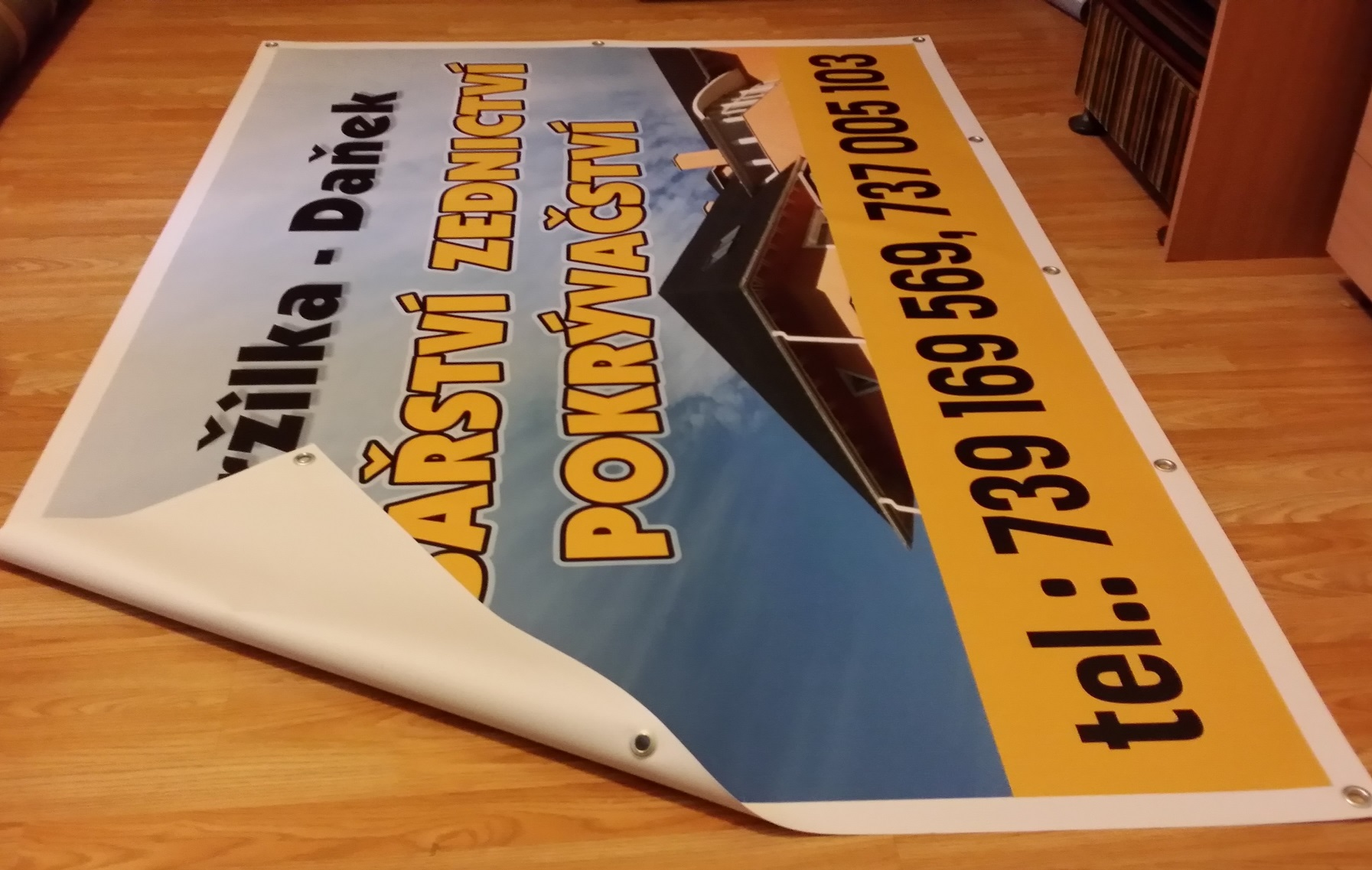 Banner plachta 1300x5000 mm 1 kus